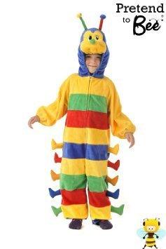 Hungry Caterpillar - Kids Costume 5 - 7 years by Pretend to Bee (Caterpillar Costumes)