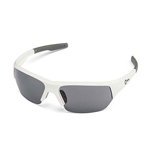 Miller 272199 Spatter Safety Glasses Smoke Lens/White Frame
