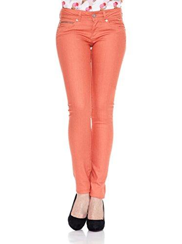 Jeans Para Pantalones Mujer Pepe orange Naranja New Brooke wqIw6d