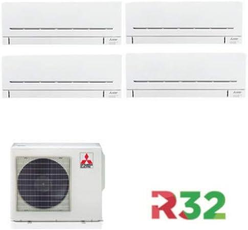 Quadrisplit Mitsubishi Electric mod. MXZ-4F72VF + MSZ-AP25VG+MSZ ...