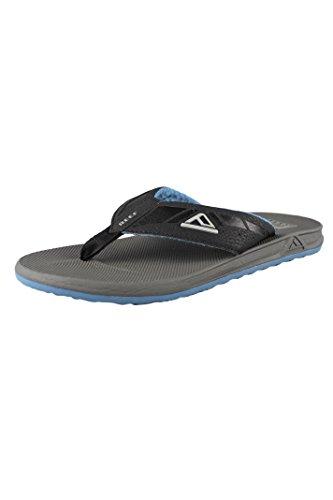 Reef Phantoms Gris y Azul para Hombre Muchachos Sandalias r2046gbl