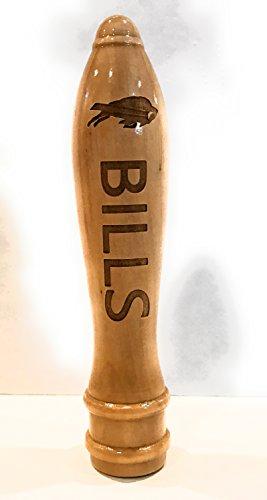 - Buffalo Bills Engraved Pub Style Beer Tap Handle Natural
