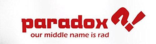 Paradox 20 /ボックス – レッドロゴ9 x 33 Griptape