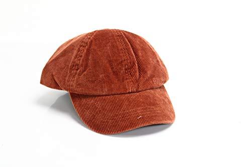 Barbour Men's Cap One Ayton Sports Corduroy Adjustable Orange One Size (Barbour Cap)