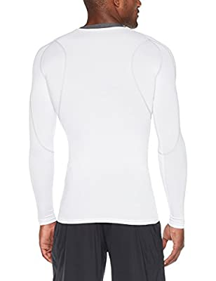 Tesla Men's Long Sleeve T-Shirt Baselayer Cool Dry Compression Top MUD11/MUD01