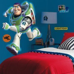 Amazoncom BUZZ LIGHTYEAR GiAnT Wall Mural Room Decor Stickers TOY