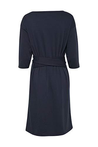 blau Kleid Eclipse ICHI Total Blau Damen qtAxnHRg