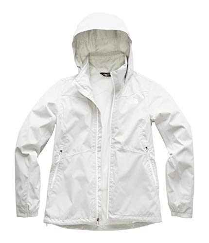 (The North Face Women's Resolve Plus Jacket, Tin Grey,)