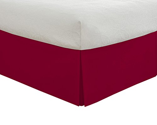 Lux Hotel Bedding Tailored Bed Skirt, Classic 14