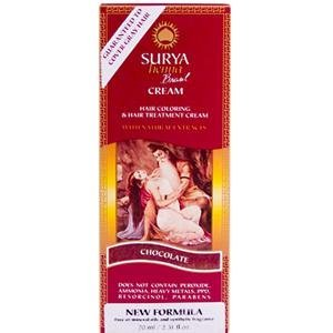 Surya Henna Chocolate Cream - 2.31 Oz -2 Pack from Surya Brazil. Henna Chocolate Cream - 2.31 Oz -2 Pack