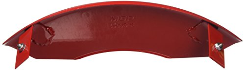 MGP Caliper Covers 14005SBOWRD Caliper Cover (Red Powder Coat Finish, Engraved Front and Rear: Bowtie, Silver Characters, Set of 4) by MGP Caliper Covers (Image #1)