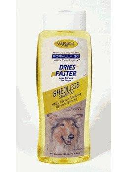 Cardinal Laboratories Gold Medal Shed Less Shampoo 17.oz, My Pet Supplies