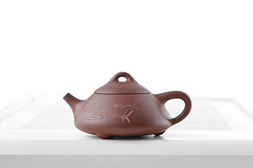 Yixing Clay Teapot Handle Ceramic Teapots Chinese Teaware Stoneware Kitchenware (sandy brown)