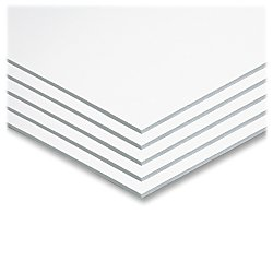"Pacon Foam Board, 22"" X 28"", White (5557), Set of 5"