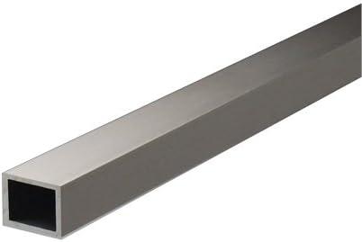 アルミ不等辺角パイプ 1.5x15x30x4000mm(2M+2M) ステンカラー
