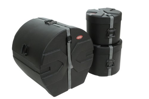 SKB 1SKB-DRP1 Roto-Molded Drum Case Package with D1822, D1012, D1214