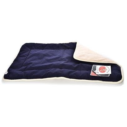 Dog Gone Smart Navy Sherpa Crate Pad, X-Large, My Pet Supplies