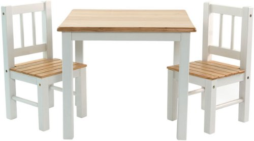 Ib Style Meubles Enfants Noa 3 Combinaisons Set 1 Table Et 2