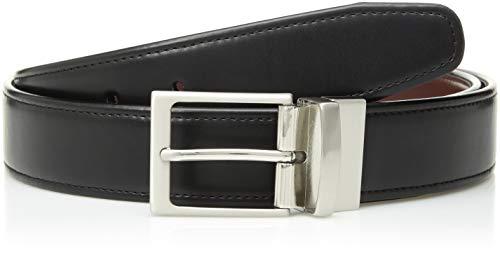 Van Heusen Reversible Belt - Van Heusen Men's Flex Reversible Dress Belt, black, X-Large