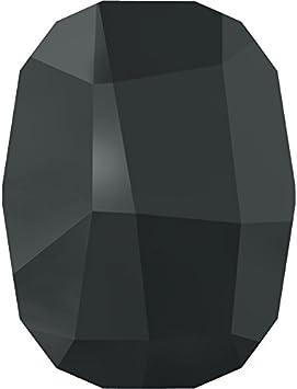 Cristales de Swarovski 1136491 Piedras Strass No Hotfix 2585 MM 8,0 JET HEMAT, 288 Piezas