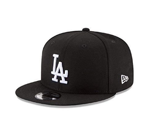 d9bbcb790f0 New Era 950 Los Angeles Dodgers Basic Snapback Hat (Black White) Men s Cap