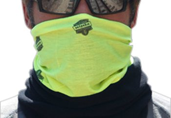 Ergodyne Core - Ergodyne CORE Performance Work Wear 6488 Fleece Multi-Band, HiVis Lime