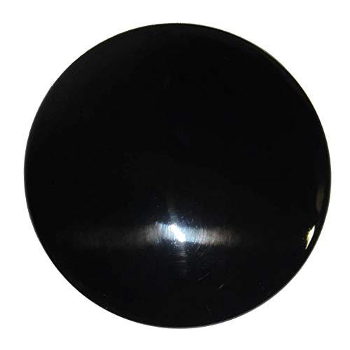 B Blesiya Boat Marine Steering Wheel Replacement Center Cap, Black Gloss ()