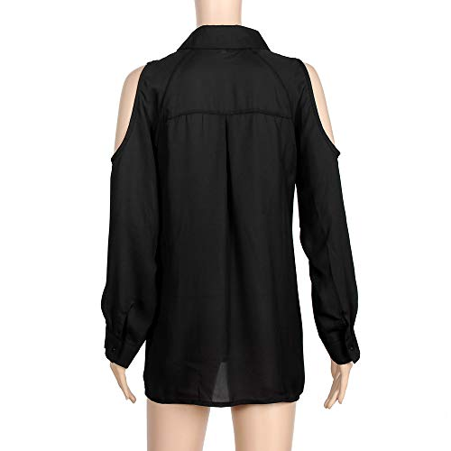 Amazon.com : Clearance Women Tops LuluZanm Autumn Long Sleeve Chiffon Shirt Tops Loose Off Shoulder Blouse : Grocery & Gourmet Food