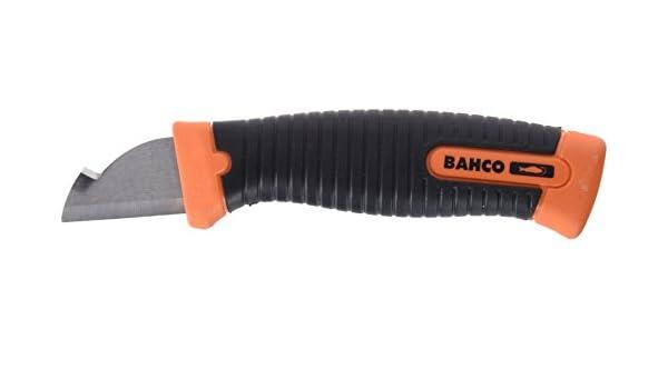 Bahco Sb2446-El - Cuchillo robusto bi-componente, en blister ...
