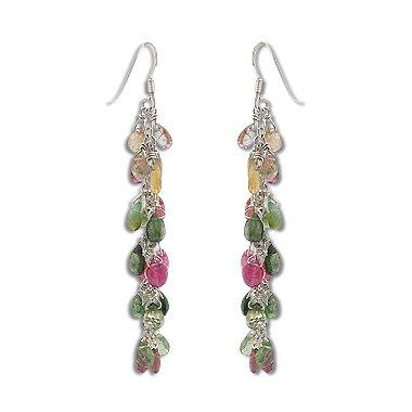 Dangling Tourmaline Earrings - 8