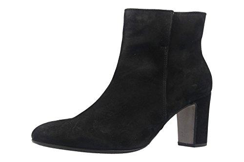 Gabor Chaussures 55880 Femmes Bottes Moitié Arbre En Daim Noir