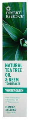 Desert Essence dentifrice Neem Tea Tree-Wintergreen