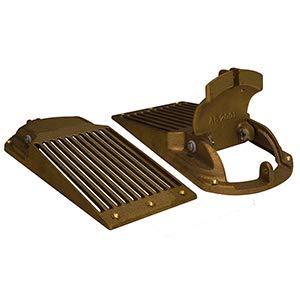 (Groco Bronze Slotted Hull Scoop Strainer w/Access Door f/Up to 2