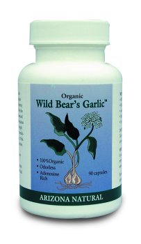 Wild Bear`s Garlic 90 by Arizona Natural