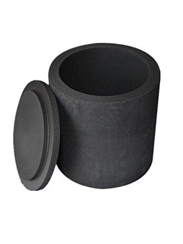 Graphit-Tischdeckel, 14 x 20 x 20 mm, Schwarz