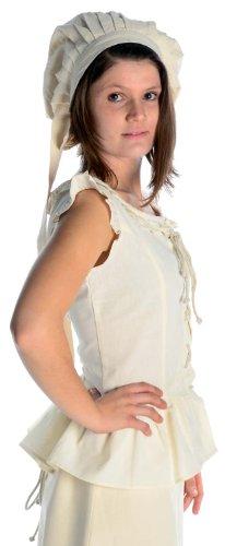 rouge femme Chemisier S brun pour pur Front lacet arrire Beige Beige XXXL blanc Coton et noir vert HEMAD mdival xTBwqwA