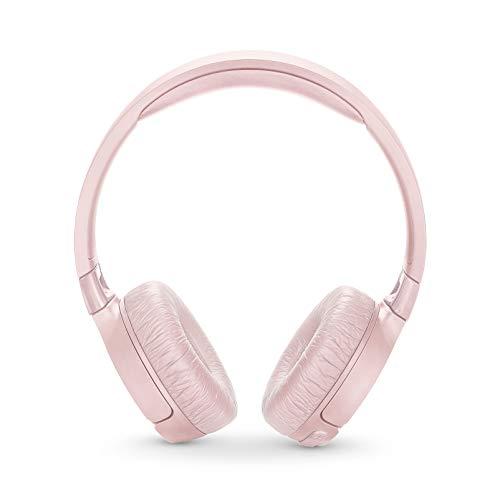 JBL T600BTNC Noise Cancelling, On-Ear, Wireless Bluetooth Headphone, Pink