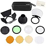 Godox AD200 Accessories, AK-R1 Accessories Kit for Godox H200R Round Flash Head