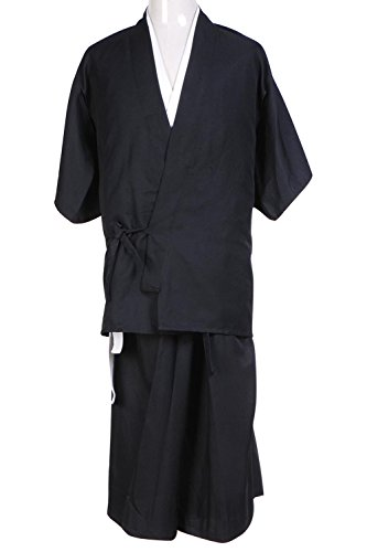 Cosplaybar Cosplay Costume Bleach Death God Shinigami Kimono Tailor Made