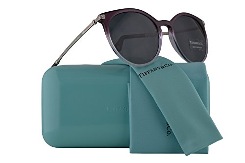 Tiffany & Co. TF4142B Sunglasses Transparent Purple Gradient Lilac w/Grey Lens 54mm 822287 TF4142-B Tiffany&Co. TF 4142B TF - Tiffany Frames Ophthalmic