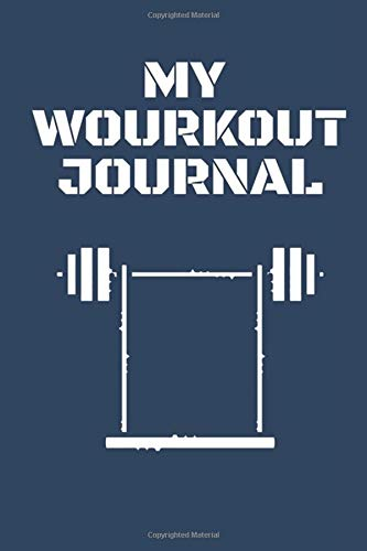 My Workout Journal Fitness Notebook