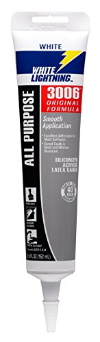 white-lightning-products-300612-3006-siliconized-all-purpose-acrylic-latex-adhesive-caulk-white