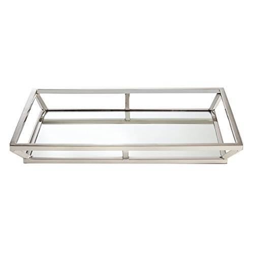 Elegance Stainless Steel Large Beam Mirrored Tray (Tray Large Mirrored)