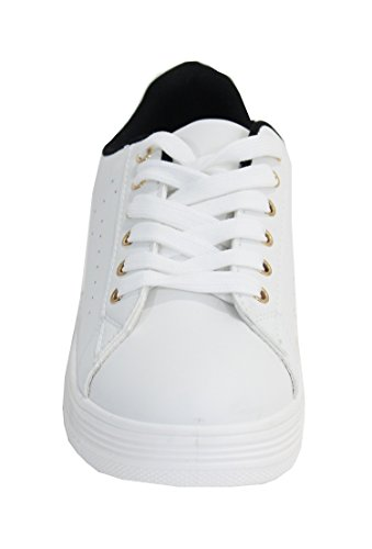 Shoes By para amp; Mujer White Black Sandalias drfqPrx