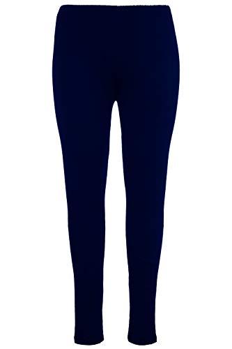 Ulla Popken Große Größen Damen große Größe bis 58+, Leggings mit Rundum-Gummibund , Slim Fit Jersey-Hose , Elastische Qualität , 665315