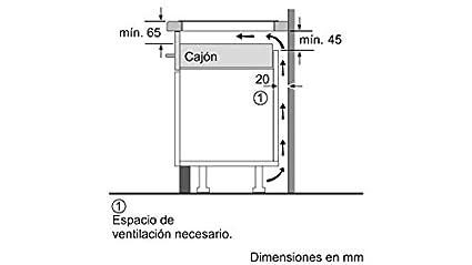 Balay 3EB864ER - Placa (Integrado, Induction hob, Vidrio, Sin ...