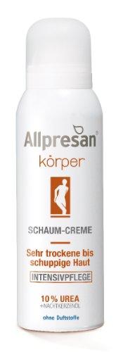 Allpresan Körper Schaum-Creme Intensivpflege 10% Urea, 200 m