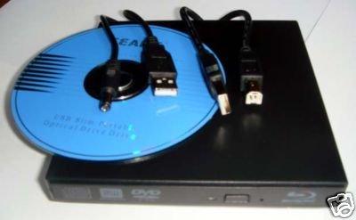 HP Dell mini netbook Laptop Blu-Ray External USB DVDRW Lightscribe Burner by cBear