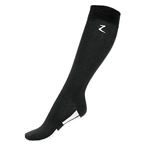 Horze-Soft-Comfort-Coolmax-High-Knee-Socks-Black-105-14