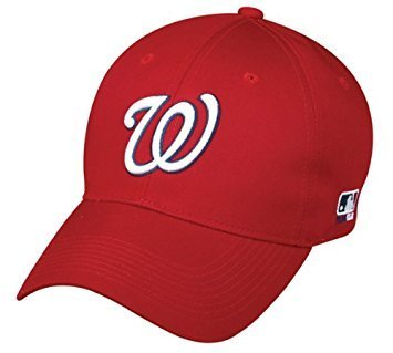Washington Youth Jersey Nationals Home (MLB Replica Adult Baseball Cap Various Team Trucker Hat Adjustable MLB Licensed , Washington Nationals - Home)